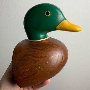 Vintage Mallard Duck Bookend
